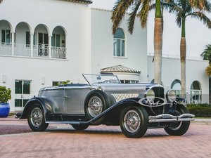 Picture of 1929 Duesenberg Model J Disappearing Top Torpedo Convertible For Sale by Auction