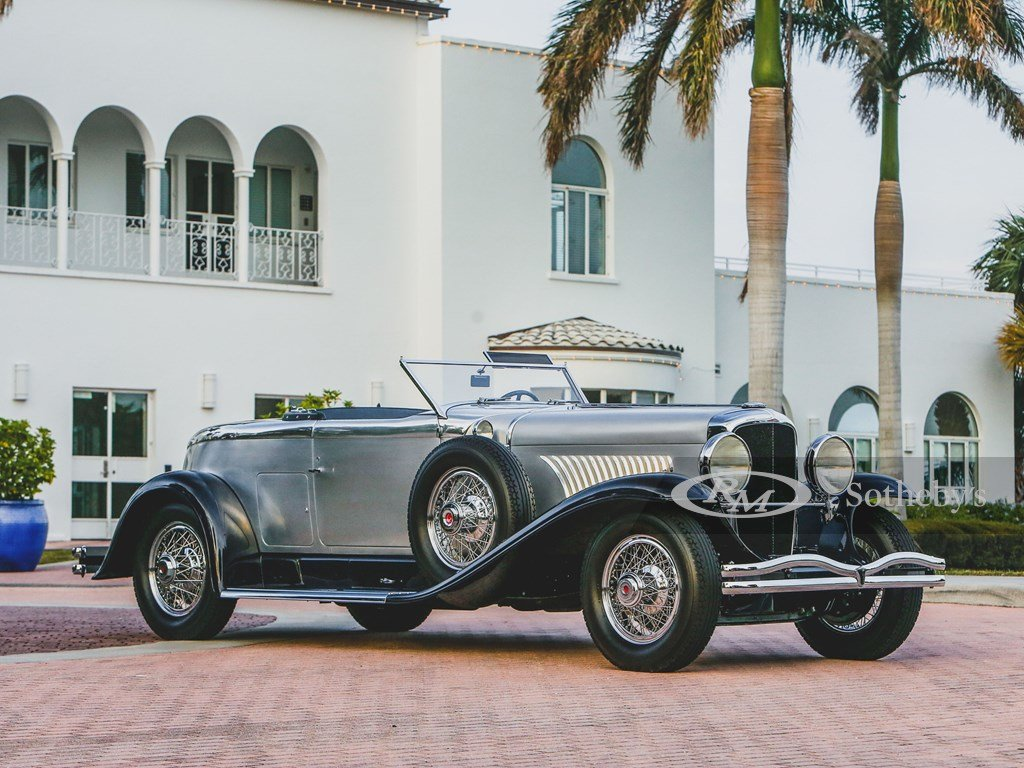 1929 Duesenberg Model J Disappearing Top Torpedo by Murphy For Sale by Auction (picture 1 of 12)