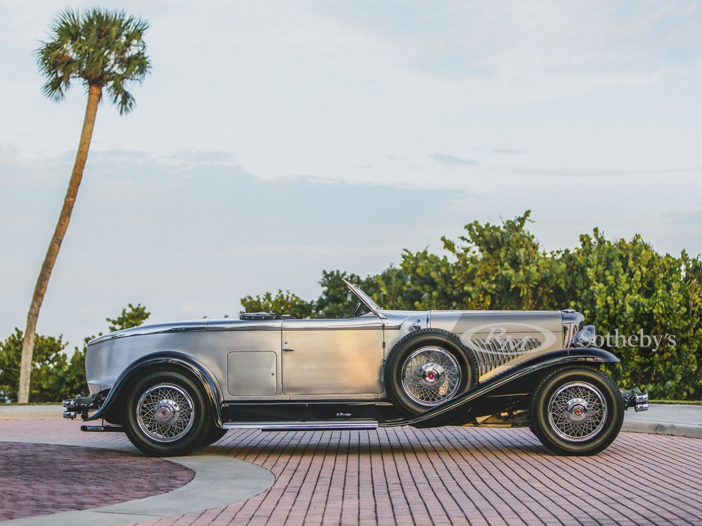 1929 Duesenberg Model J Disappearing Top Torpedo by Murphy For Sale by Auction (picture 5 of 12)