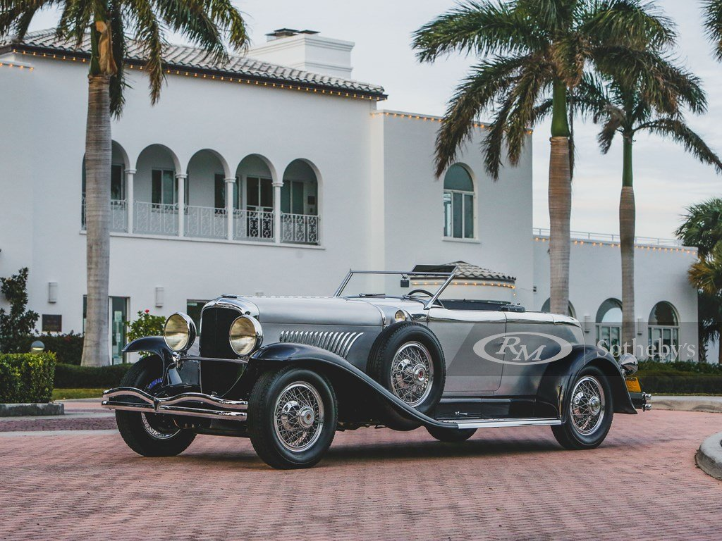 1929 Duesenberg Model J Disappearing Top Torpedo by Murphy For Sale by Auction (picture 8 of 12)