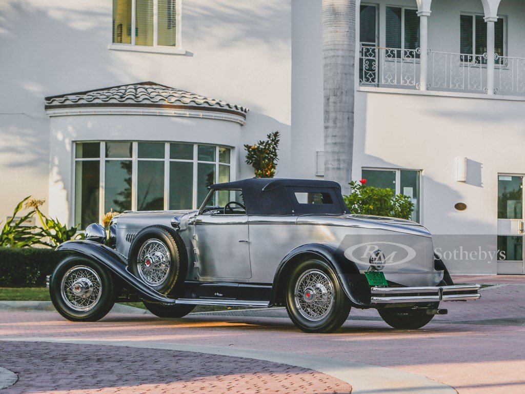 1929 Duesenberg Model J Disappearing Top Torpedo by Murphy For Sale by Auction (picture 9 of 12)