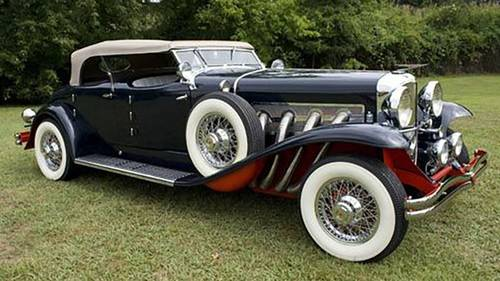 1933 Duesenburg 2DR Convertible For Sale (picture 1 of 5)