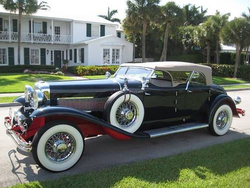 1933 Duesenburg 2DR Convertible For Sale (picture 2 of 5)