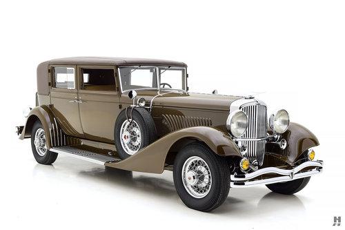 1935 Duesenberg Model J Judkins Special Berline SOLD (picture 2 of 6)