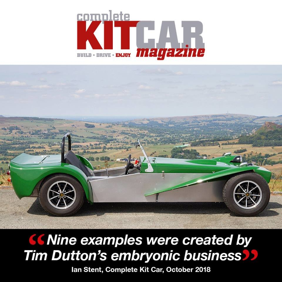 1971 Dutton P1 Historic Lotus Seven Style Sports Car For