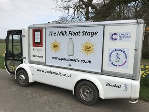 Rare Q Electric Milk Float