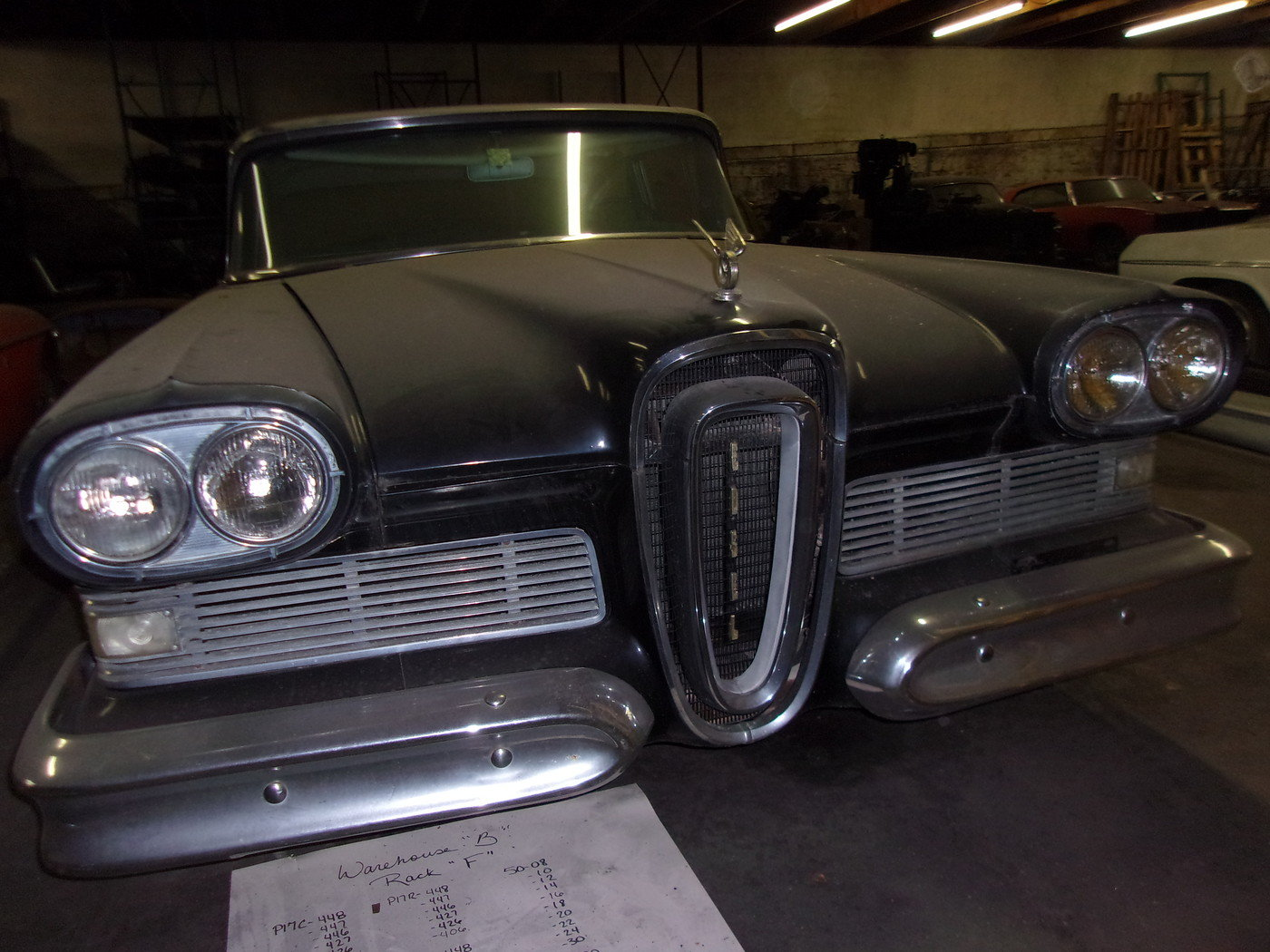 1958 Edsel Pacer 4dr Sedan For Sale (picture 1 of 6)