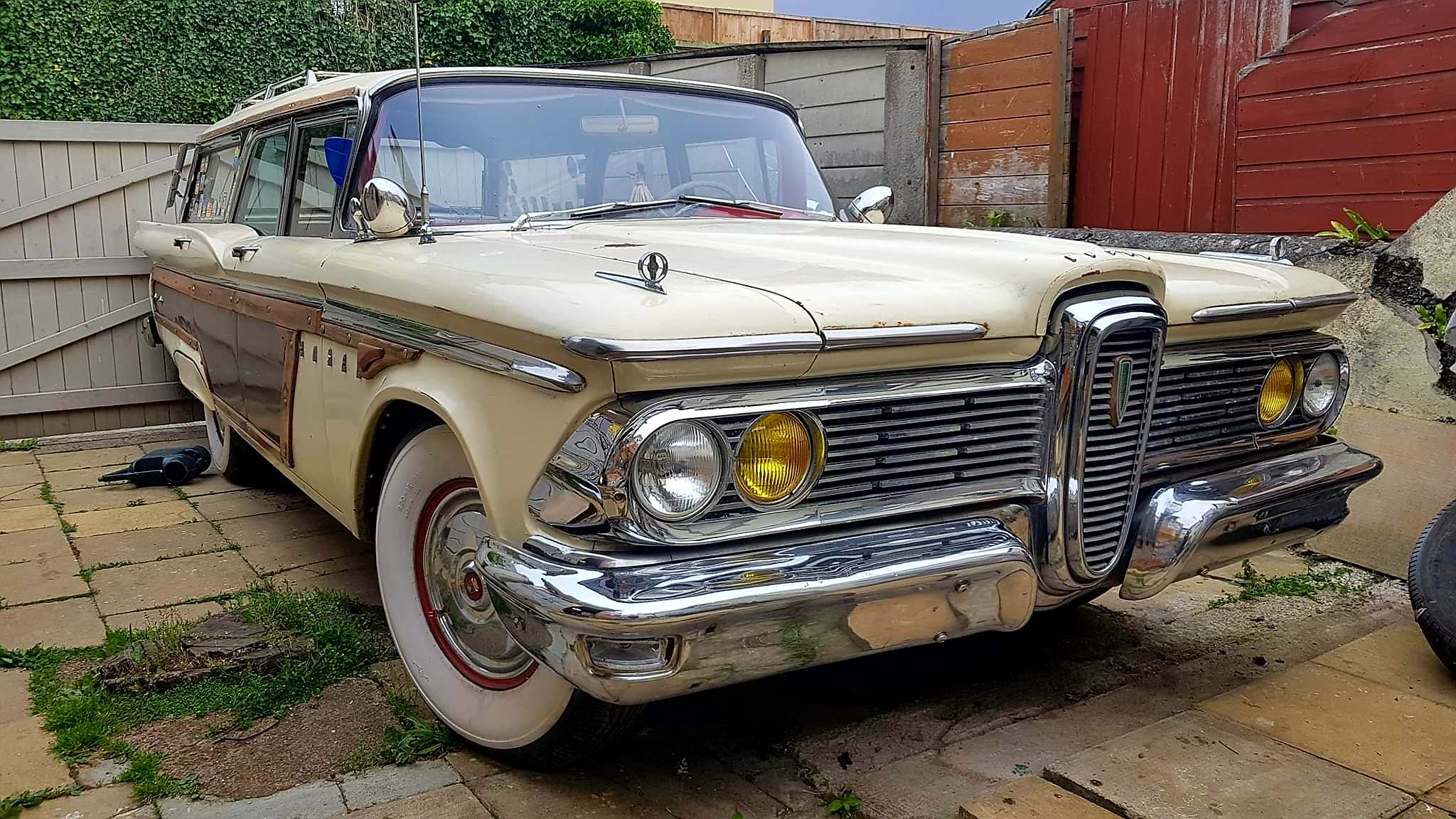 1959 Edsel villager woody wagon For Sale (picture 1 of 4)