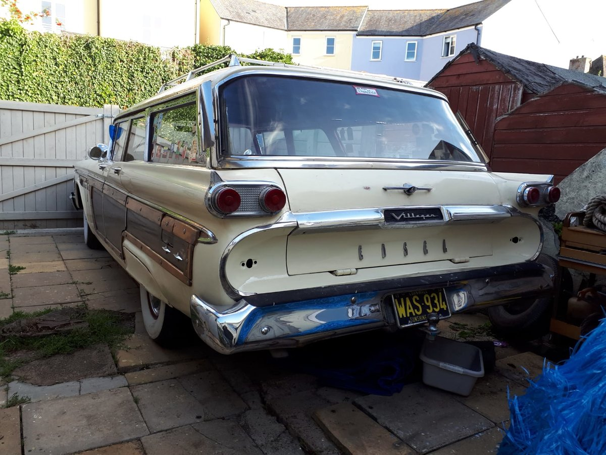 1959 Edsel villager woody wagon For Sale (picture 4 of 4)