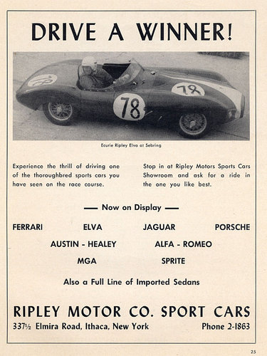 1957 ELVA MKIIB Alloy bodied - FIA Papered For Sale (picture 6 of 6)