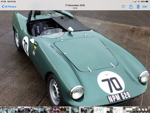 1959 Elva Courier 100/5/R For Sale