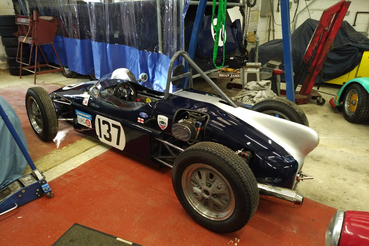 1960 ELVA Formula Junior 200 for racing or hill climbing For Sale (picture 6 of 6)
