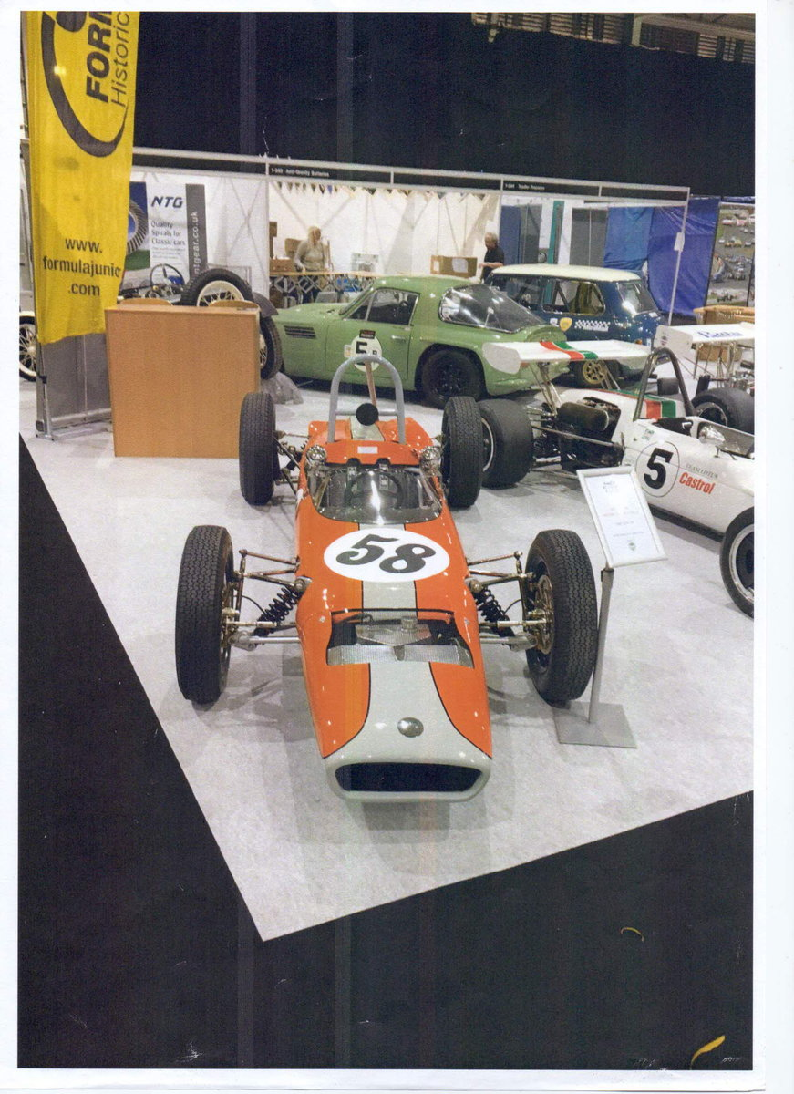 1961 Formula Junior  FJ/2D chassis no 300/005 For Sale (picture 1 of 6)