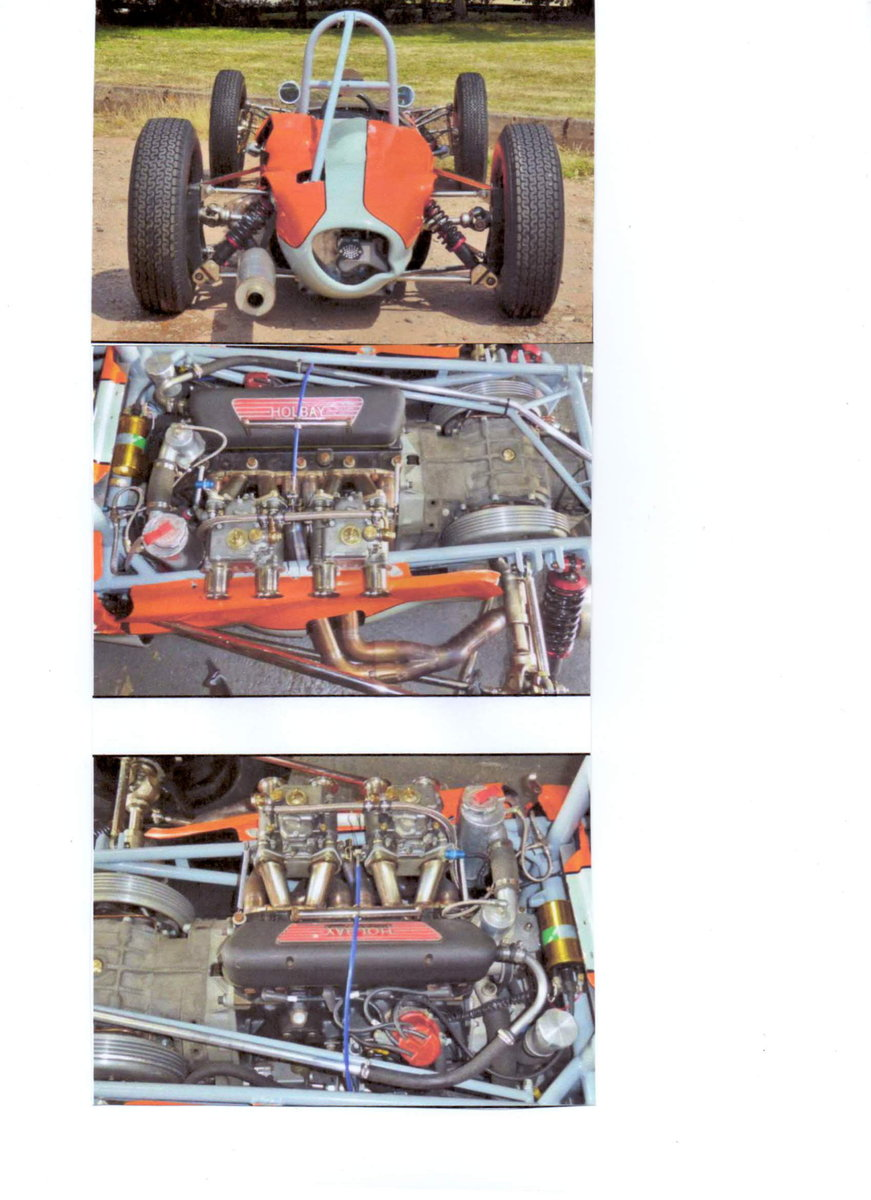 1961 Formula Junior  FJ/2D chassis no 300/005 For Sale (picture 4 of 6)