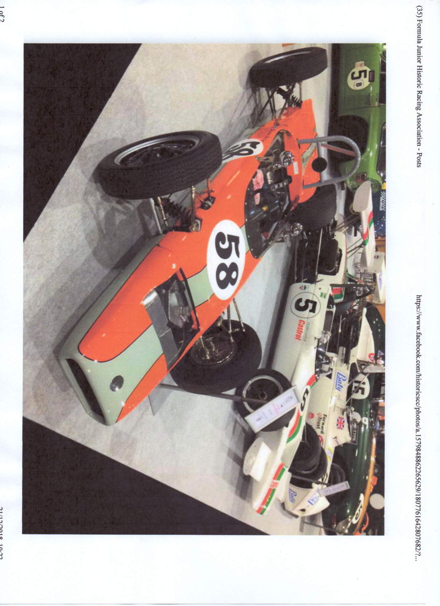 1961 Formula Junior  FJ/2D chassis no 300/005 For Sale (picture 5 of 6)