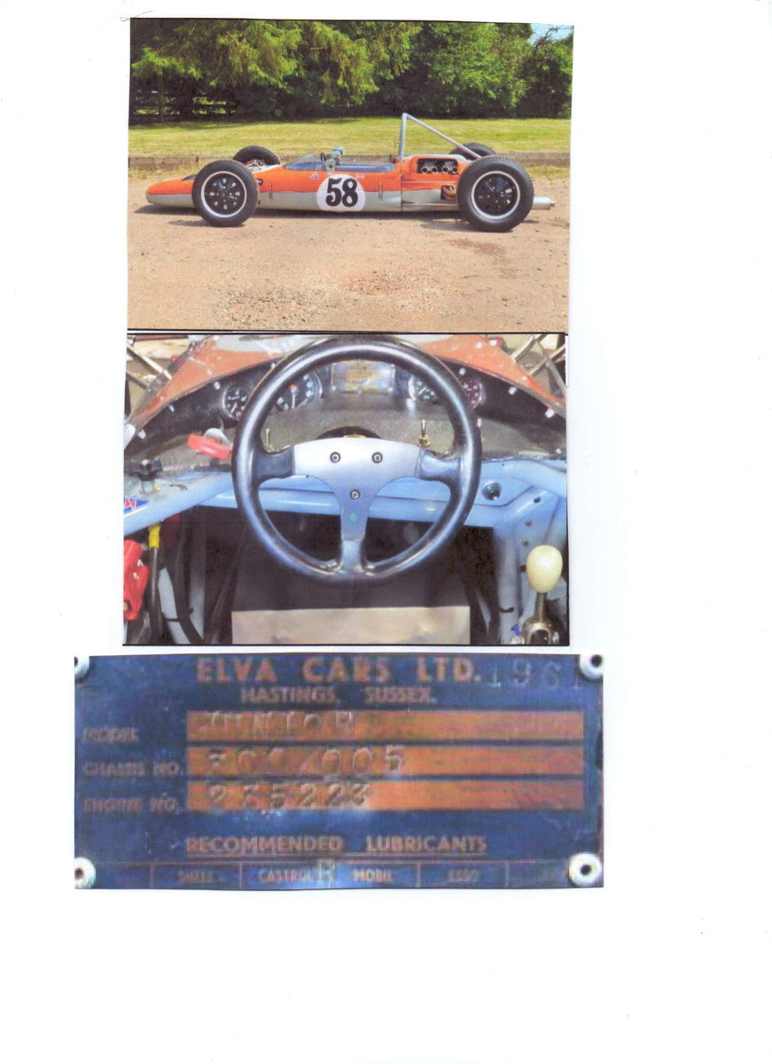 1961 Formula Junior  FJ/2D chassis no 300/005 For Sale (picture 6 of 6)