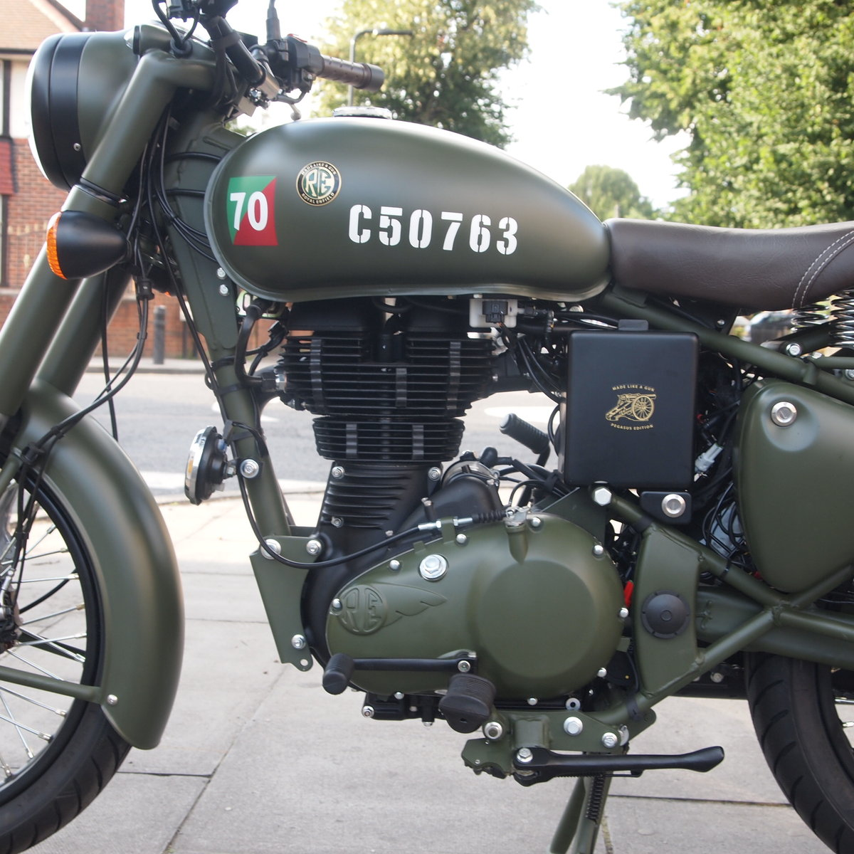 2018 Royal Enfield Pegasus. RESERVED FOR TREVOR. SOLD (picture 3 of 6)