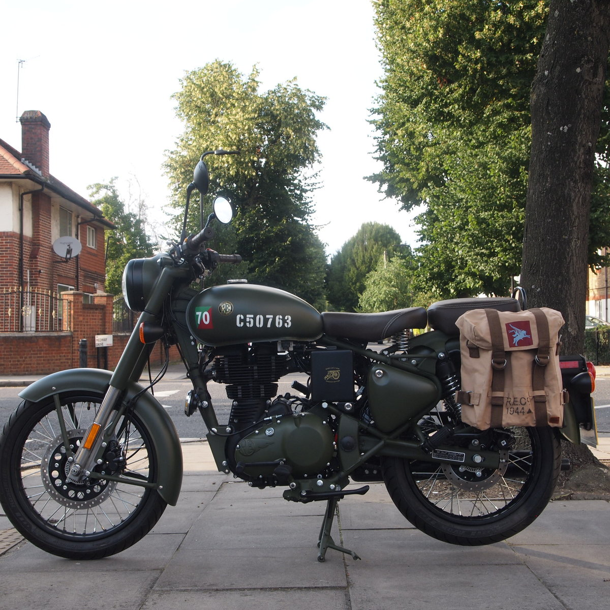 2018 Royal Enfield Pegasus. RESERVED FOR TREVOR. SOLD (picture 4 of 6)