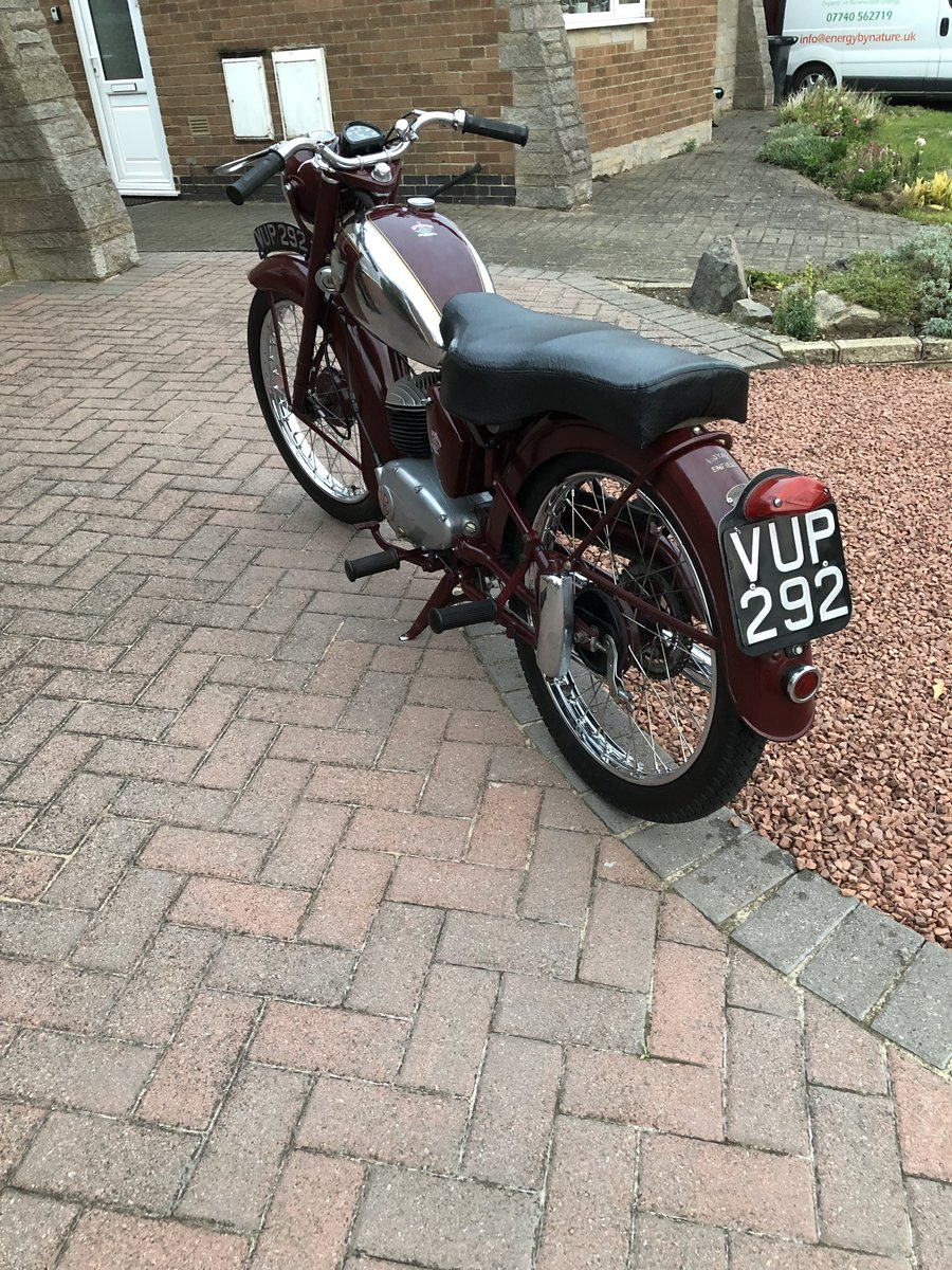 1957 Royal Enfield Ensign mk2 SOLD (picture 6 of 6)