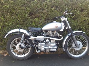 Sold Royal Enfield 500 Trials Works Replica