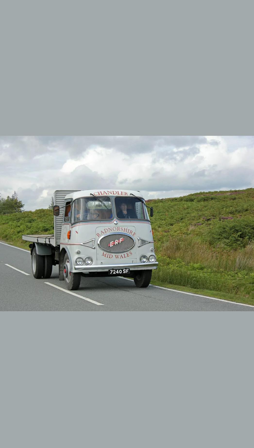 1962 Vintage Erf KV lorry, vintage commercial, 7.5 tonn For Sale (picture 1 of 6)