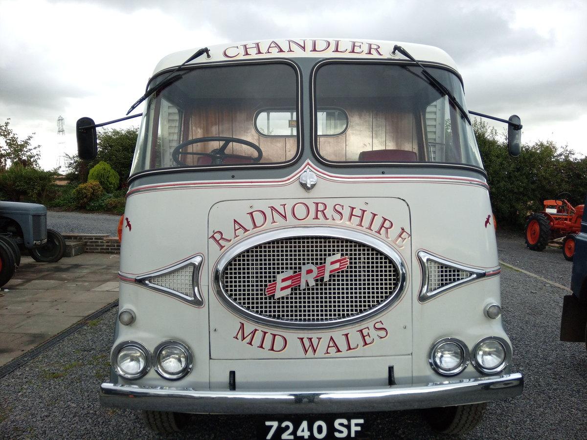 1962 Vintage Erf KV lorry, vintage commercial, 7.5 tonn For Sale (picture 2 of 6)