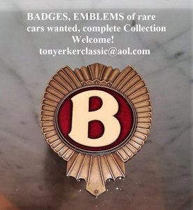 Wanted: Badges: Stanguellini, Motto, Vignale, Caprera, Mini