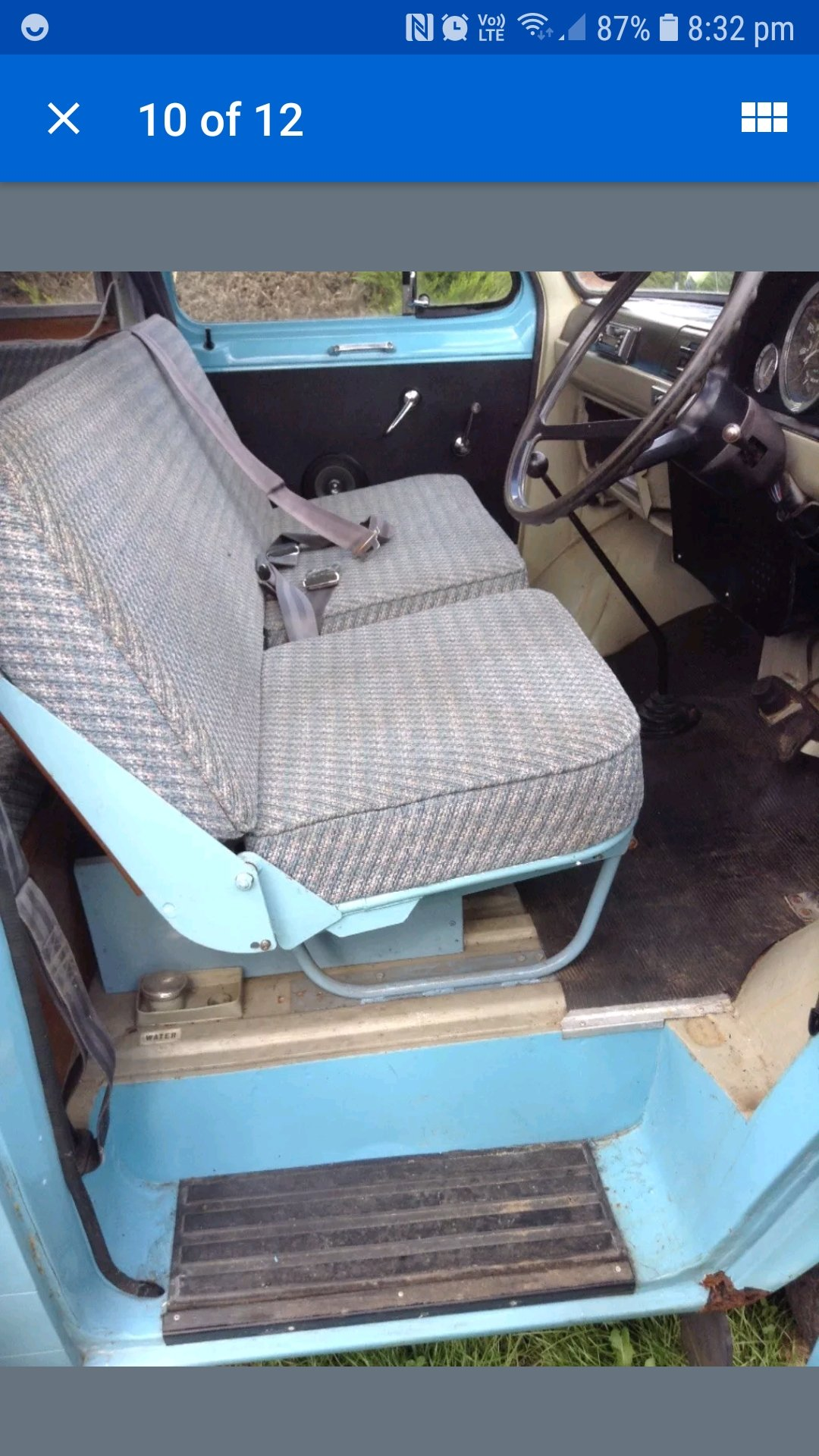 1968 FORD TRANSIT MK1 CAMPER wayfarer For Sale (picture 5 of 6)