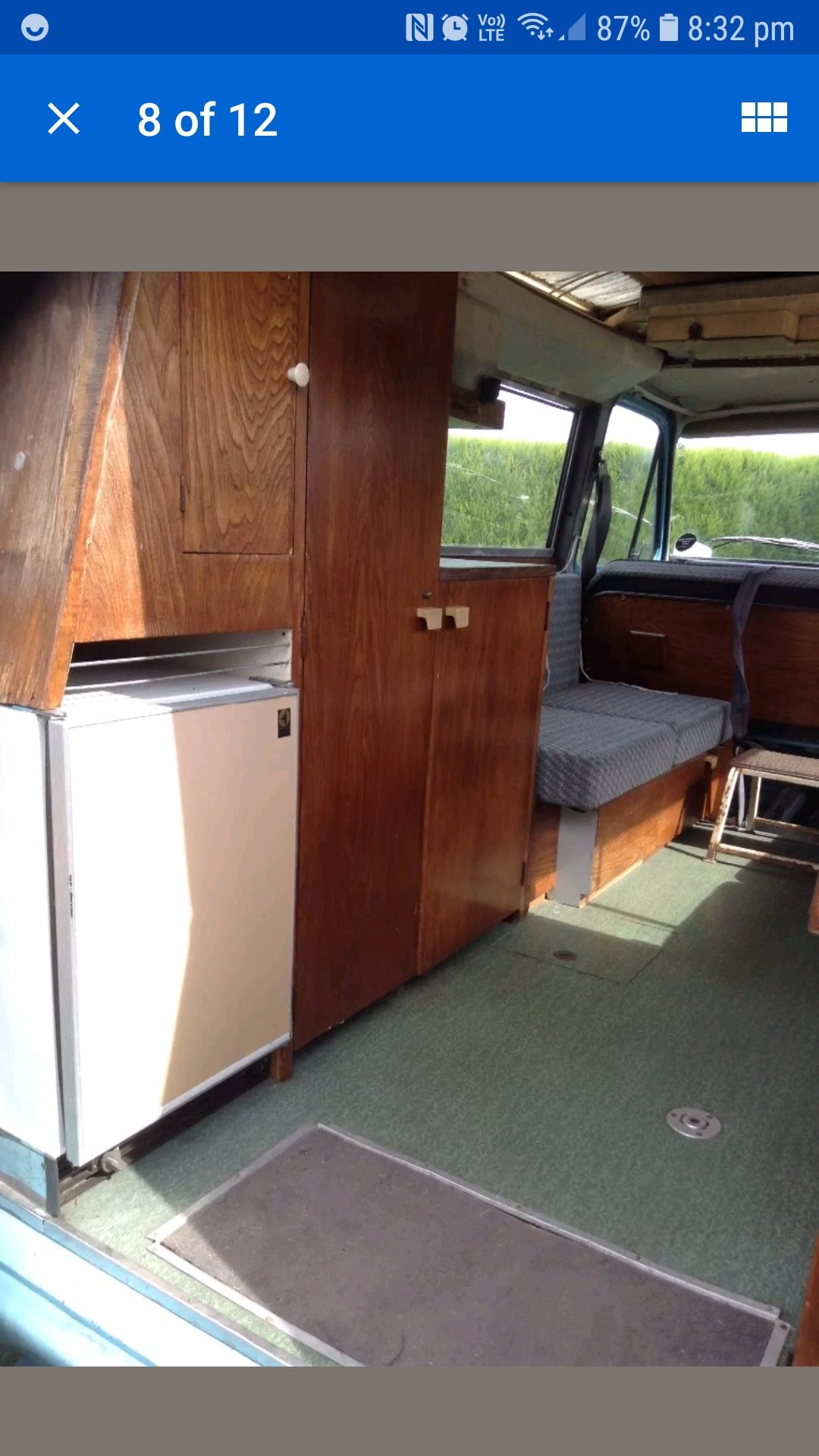 1968 FORD TRANSIT MK1 CAMPER wayfarer For Sale (picture 6 of 6)