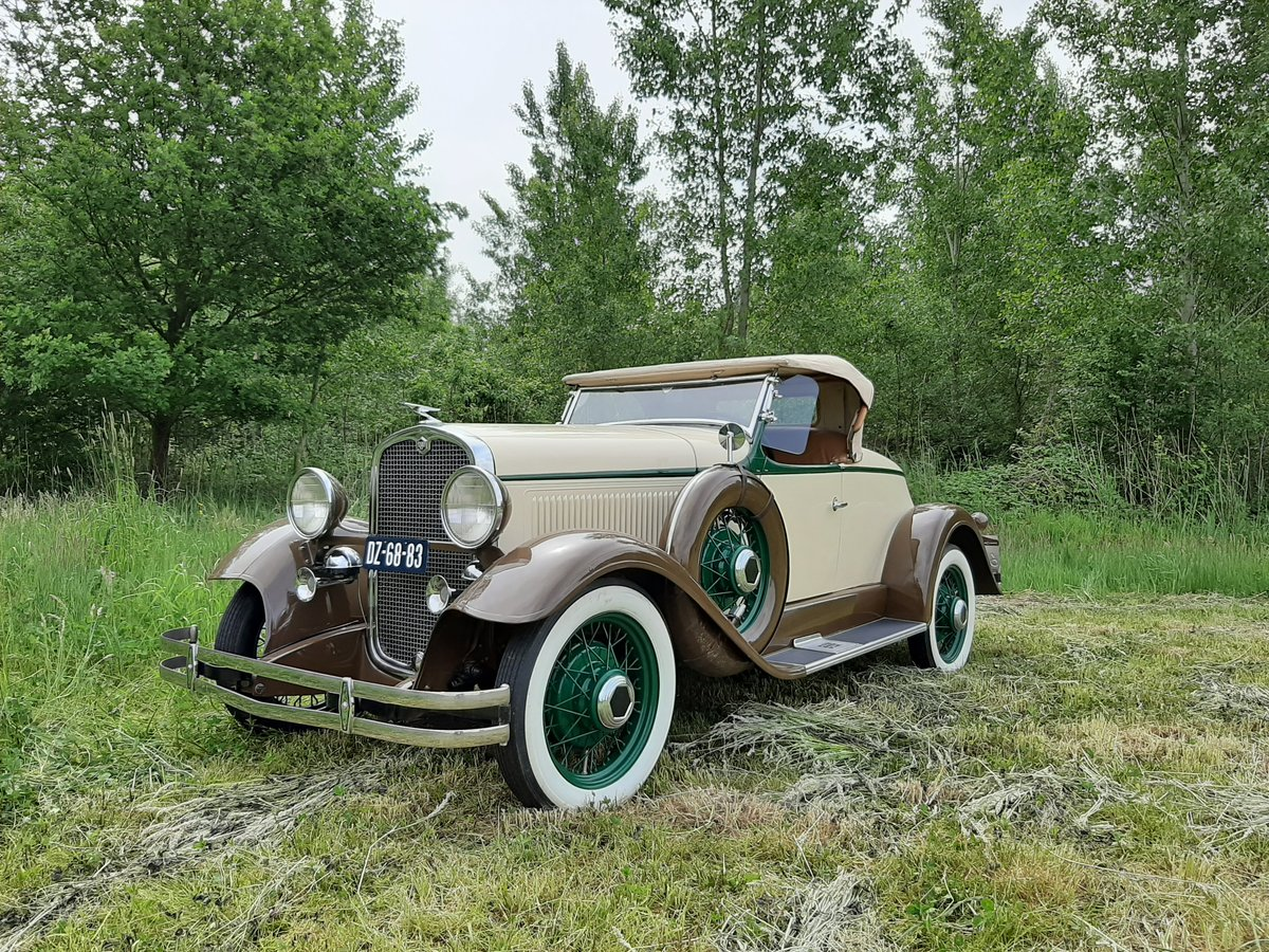1931 Essex Super Six Sport Roadster For Sale (picture 1 of 6)