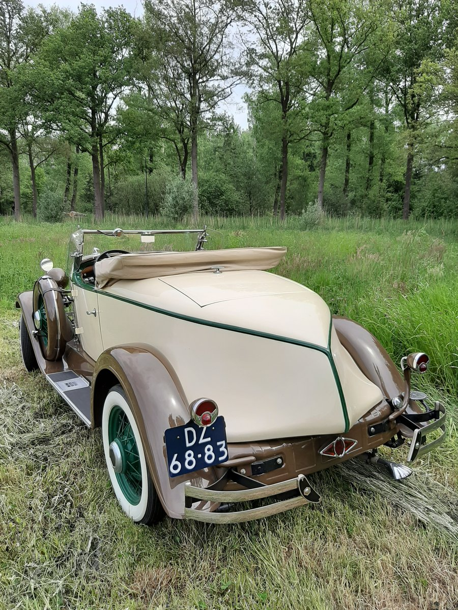 1931 Essex Super Six Sport Roadster For Sale (picture 2 of 6)