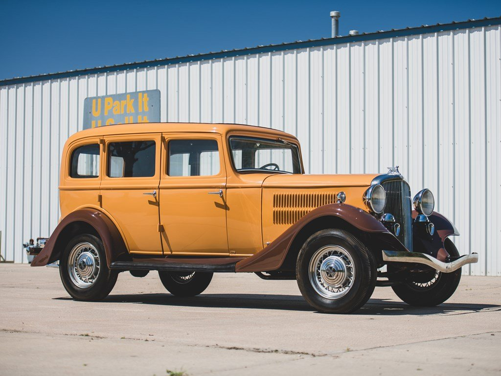 1933 Essex Teraplane Deluxe Six Series KU Five-Passenger Sed For Sale by Auction (picture 1 of 6)