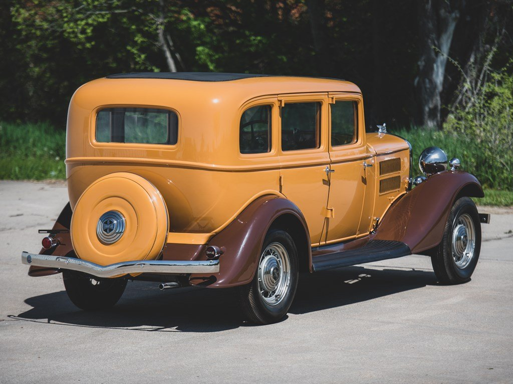 1933 Essex Teraplane Deluxe Six Series KU Five-Passenger Sed For Sale by Auction (picture 2 of 6)