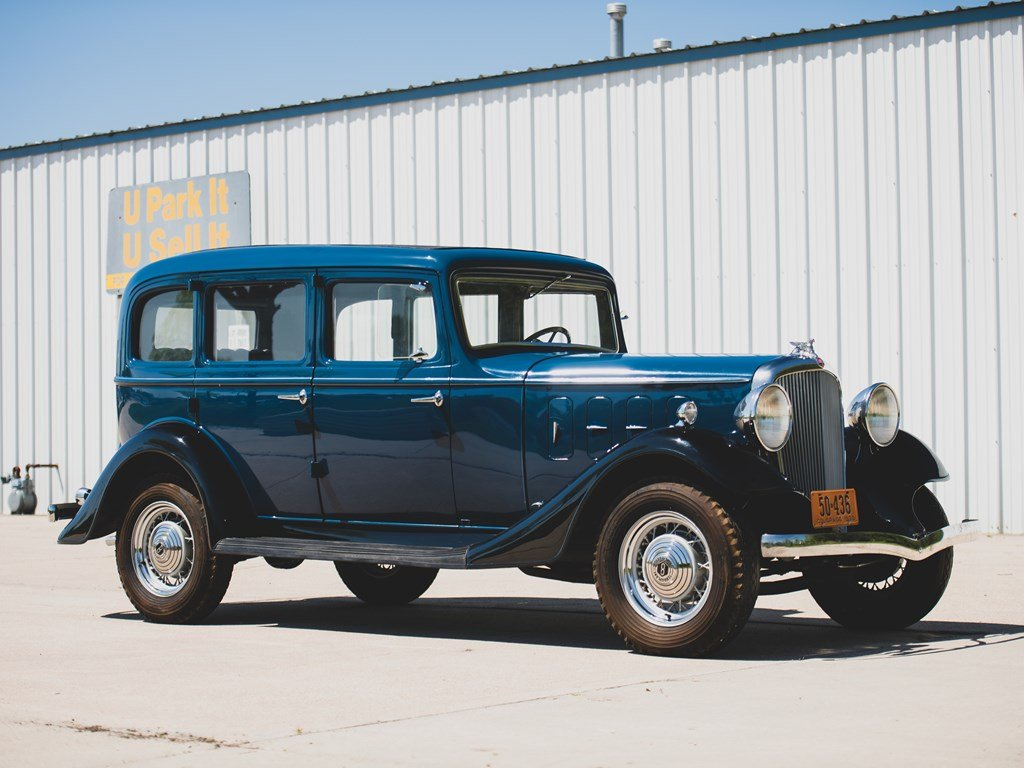 1933 Essex Terraplane Eight Series KT Five-Passenger Sedan For Sale by Auction (picture 1 of 6)