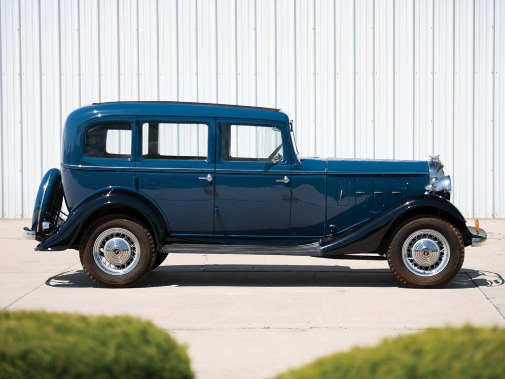 1933 Essex Terraplane Eight Series KT Five-Passenger Sedan For Sale by Auction (picture 4 of 6)
