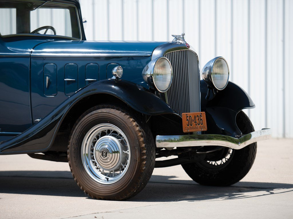 1933 Essex Terraplane Eight Series KT Five-Passenger Sedan For Sale by Auction (picture 5 of 6)