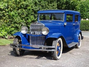 1930 Essex Super Six Saloon For Sale by Auction