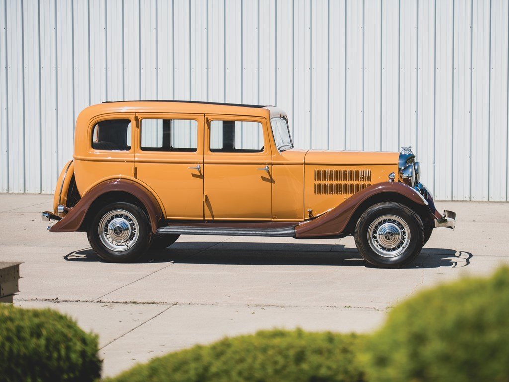 1933 Essex Terraplane Deluxe Six Series KU Five-Passenger Se For Sale by Auction (picture 5 of 6)