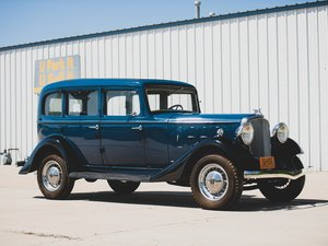 1933 Essex Terraplane Eight Series KT Five-Passenger Sedan  For Sale by Auction