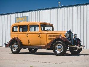 1933 Essex Terraplane Deluxe Six Series KU Five-Passenger Se For Sale by Auction