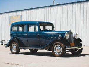 1933 Essex Terraplane Eight Series KT Five-Passenger Sedan  For Sale by Auction