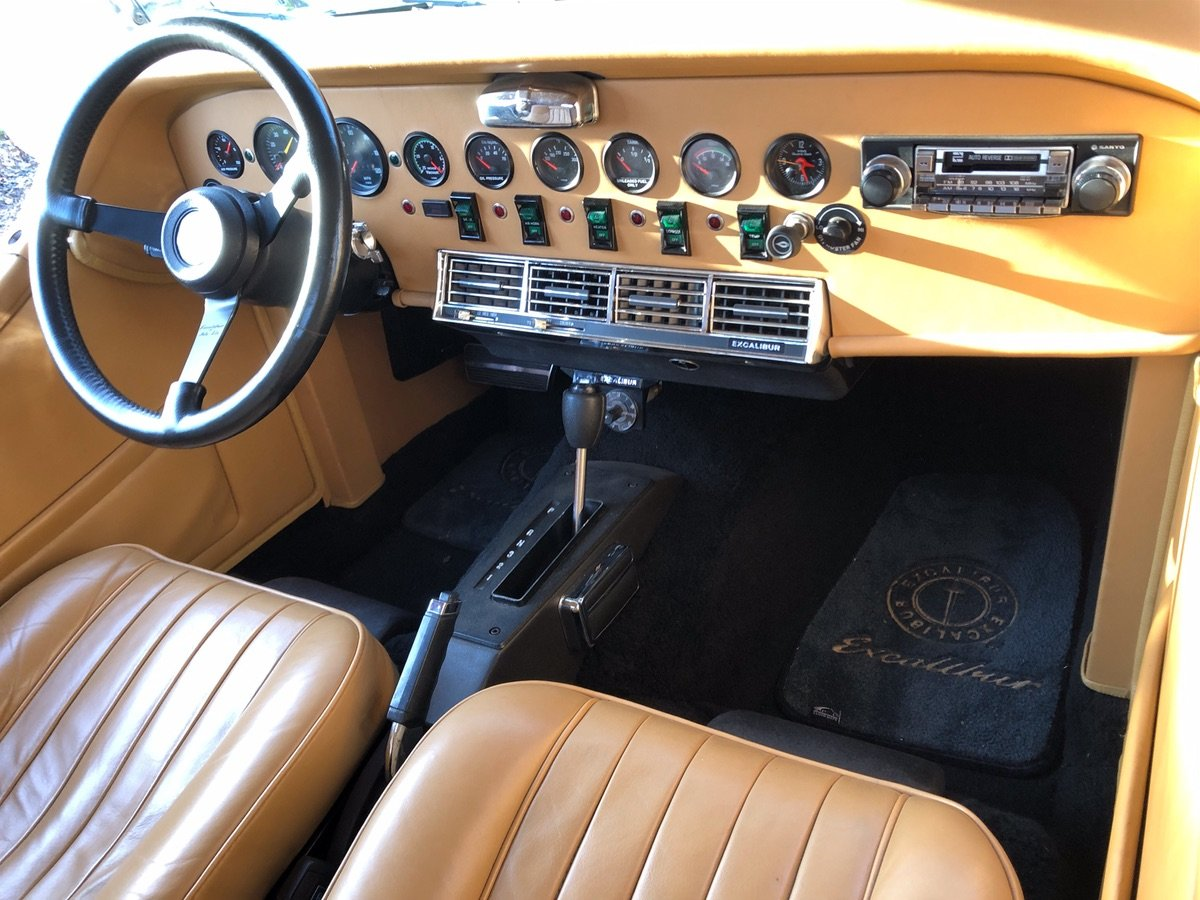 Excalibur Mk3 Roadster 1979 For Sale (picture 11 of 24)