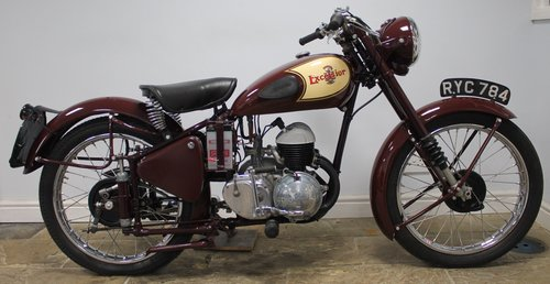 1954 Excelsior Talisman TTY111 250 cc SUPERB  SOLD (picture 1 of 6)