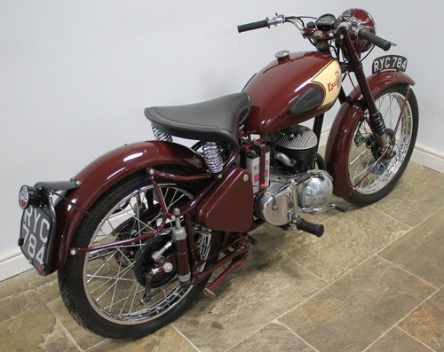 1954 Excelsior Talisman TTY111 250 cc SUPERB  For Sale (picture 4 of 6)