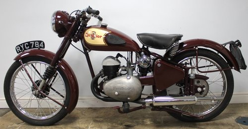 1954 Excelsior Talisman TTY111 250 cc SUPERB  SOLD (picture 5 of 6)
