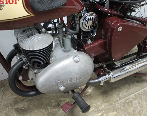1954 Excelsior Talisman TTY111 250 cc SUPERB  SOLD (picture 6 of 6)