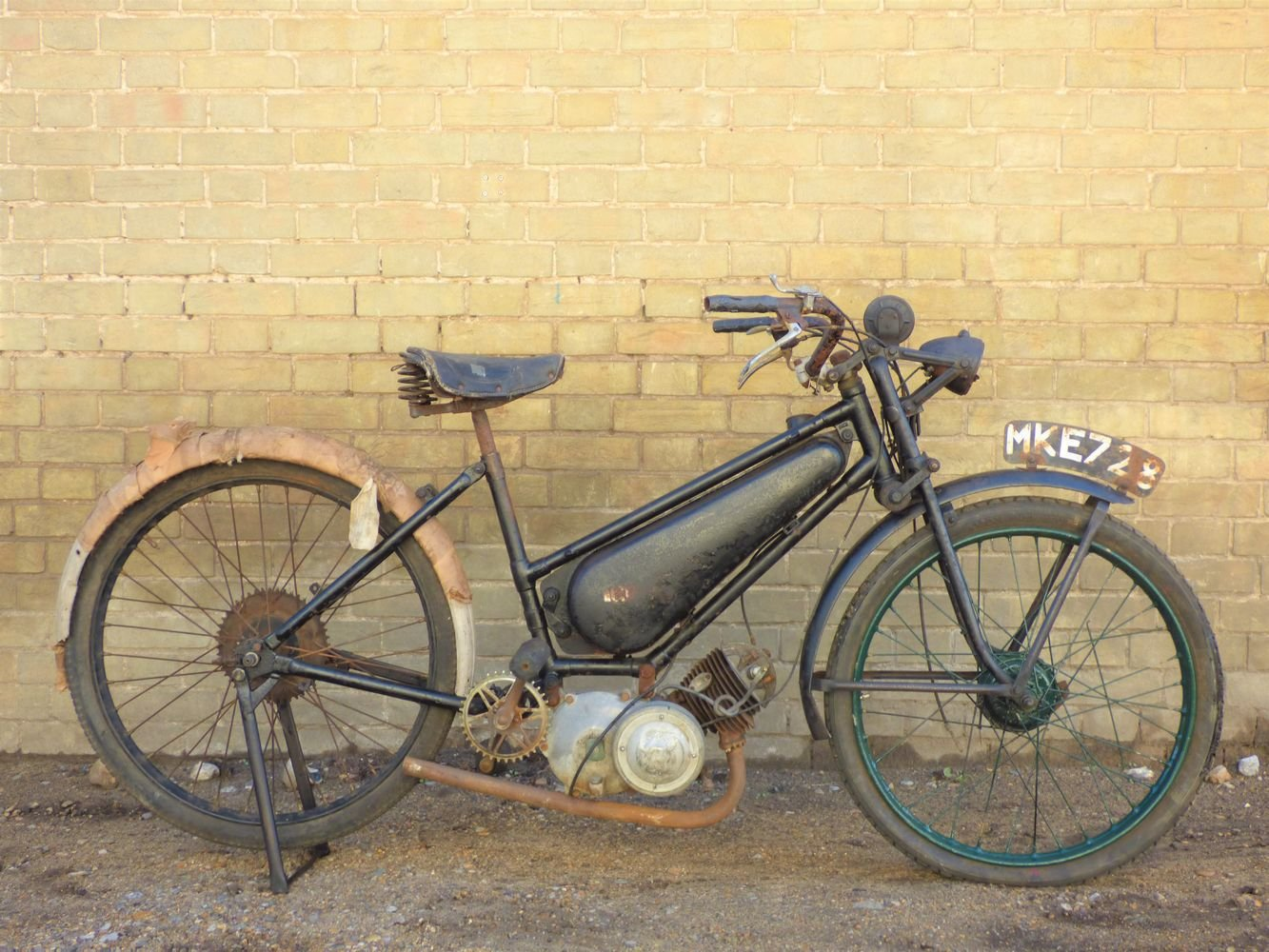 1949 Excelsior Autobyk For Sale (picture 1 of 6)