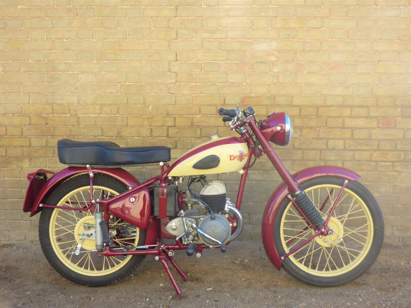 1954 Excelsior Talisman Twin 250cc SOLD (picture 1 of 6)