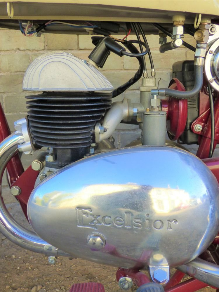 1954 Excelsior Talisman Twin 250cc SOLD (picture 4 of 6)