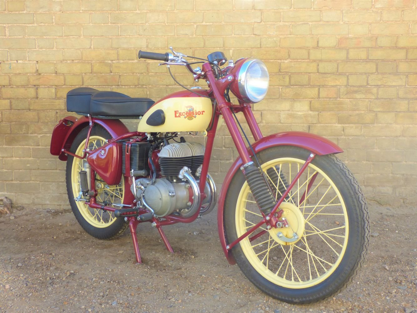 1954 Excelsior Talisman Twin 250cc SOLD (picture 6 of 6)